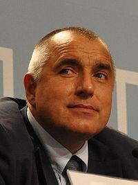 Il Primo Ministro bulgaro, Boyko Borysov