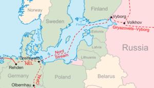 Il tragitto del Nordstream