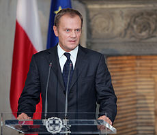Il Premier polacco, Donald Tusk