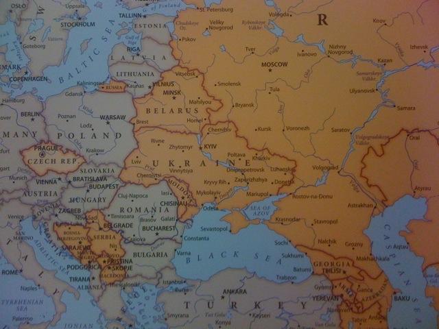 Cartina Europa Orientale Fisica.Deportazione Staliniana Dei Tatari Di Crimea La Voce Arancione Il Blog Di Matteo Cazzulani