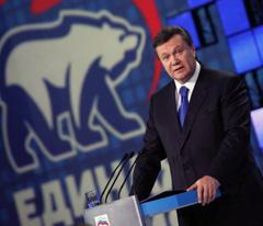 Il presidente ucraino, Viktor Yanukovych