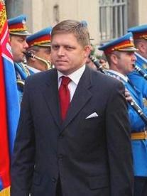 Il Primo Ministro slovacco, Robert Fico