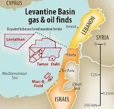 I giacimenti israeliani Leviathan e Tamar